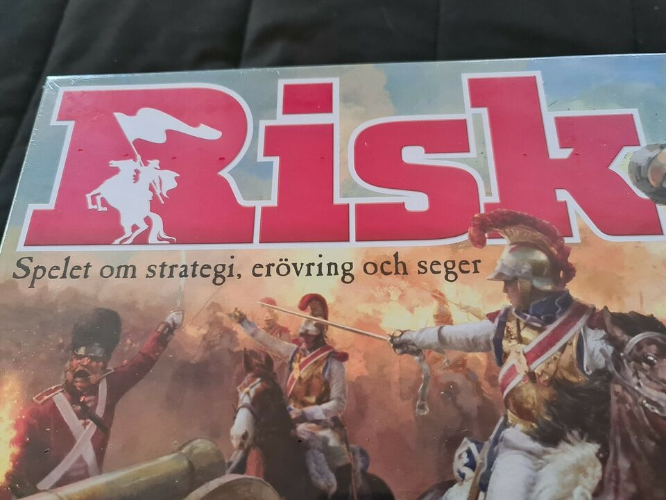 Risk (SE), Risk - Spillet af strategi, erobring og sejr.