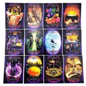 47PCS-Witches-Wisdom-Oracle-Cartes-Divination-Fate-Jeu-de-societe-Jeu-de-cartes
