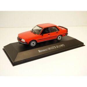 Renault-18-r18-GTX-II-1987-to-1-43-ixo