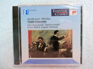 Beethoven-Sibelius-Violin-Concertos-CD-1992-Sony-Classical-Francescatti