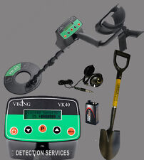 VIKING VK40 cercametalli metal detector motion e non-motion bellica e monete