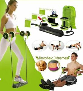 Revoflex-Xtreme-Abdominal-Trainer-Resistance-Workout-Machine-Home-Gym-Exercise