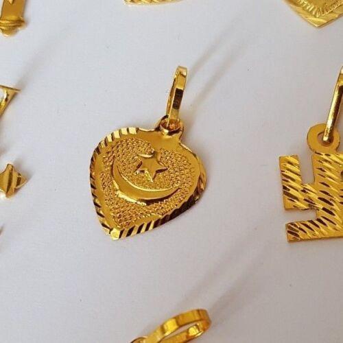 UK 18K Gold Plated Heart// Love Locket Pendant Necklace