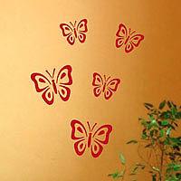 Wall Tattoo Wall Sticker Butterflies Set