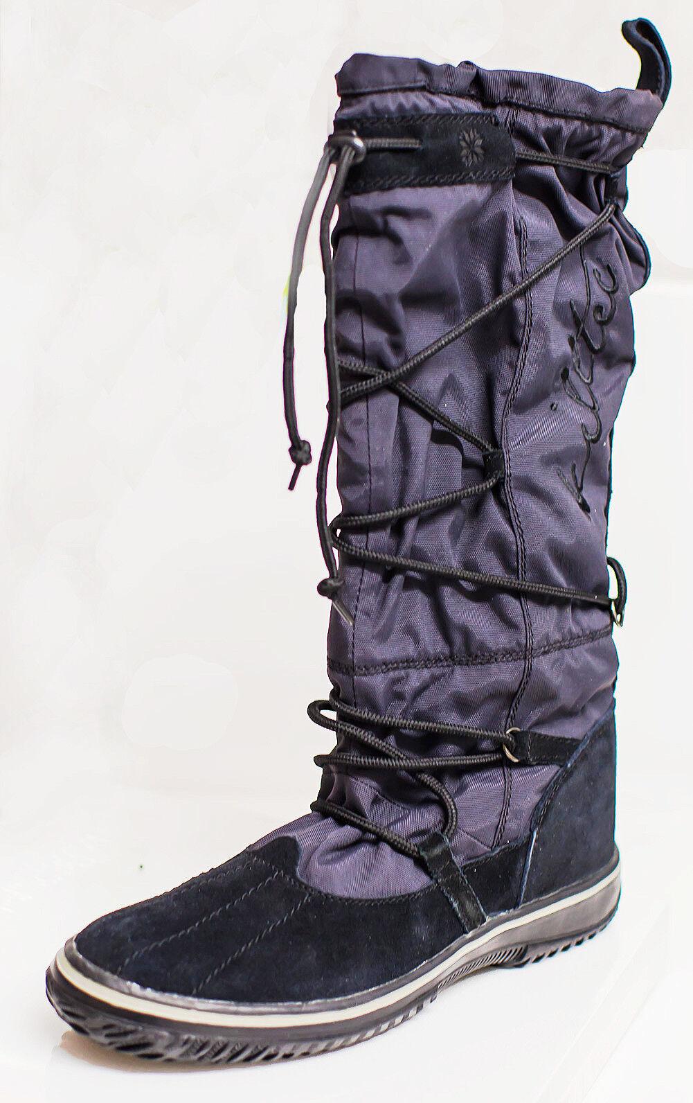 Killtec Damenstiefel, hohe Snowboots Kenai, schwarz, Gr 40, neu