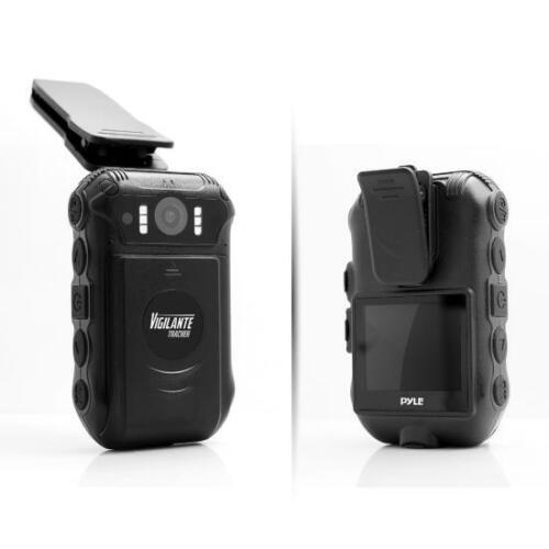 New Pyle PPBCMG18 Compact Body /& Portable HD Police Cam Camera Wireless