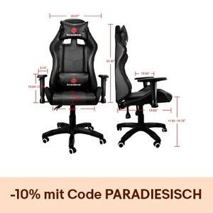 Gaming Stuhl Computerspiel Ergonomisch Chair Gamingstuhl Racing Bürostuhl