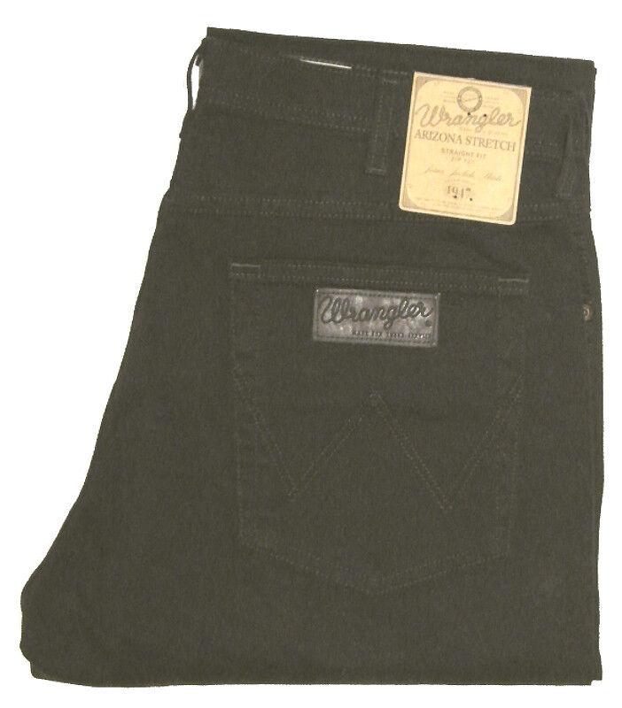Wrangler Jeans Arizona Stretch DarkTeak Dark Brown w12ogd135 W 34 36 38 40 42