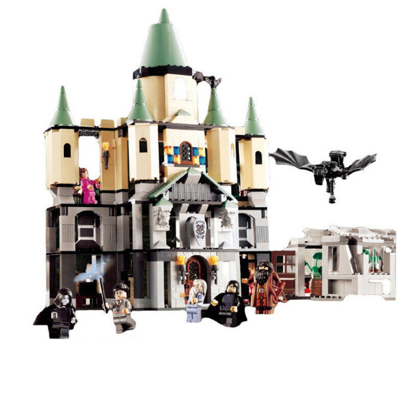 Lego Hogwarts Great Hall Harry Potter Model building kits compatible toys gift