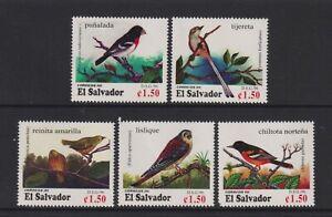 El Salvador - 1996, Zugvögel Vögel Set - MNH - Sg 2345/9