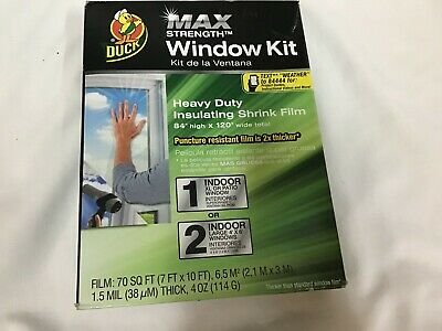 Duck Window Insulating Kit 84 Inches High X 120 Inches Wide Xl Or Patio Window 75353140864 Ebay 80 inch is how many ft? ebay