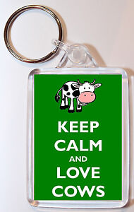 keep calm i/'m a wonky donkey  Double Sided Large Keyring Key Ring Fob Chain Gift