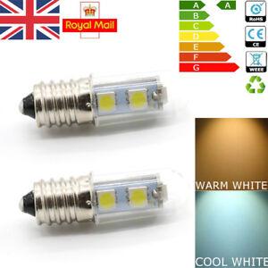 2x-E14-1-5W-White-Warm-White-LED-Light-Bulb-for-Cooker-Hood-Chimmey-Fridge