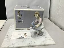 LLadro Best Friend 7620 Porcelain Figurine in Box 07620 Excellent!