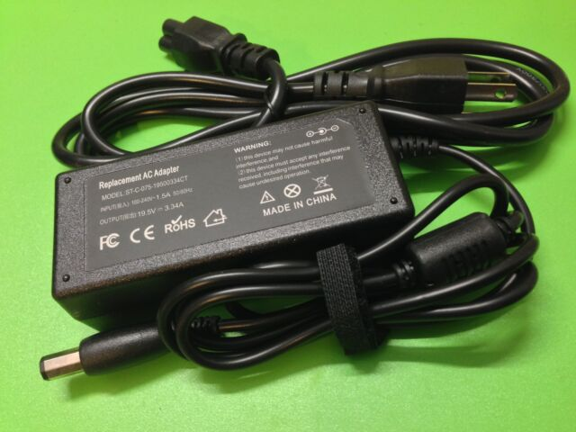 65W Octgonal tip AC Adapter charger power cord for DELL PA-21 XPS M1330 fast new