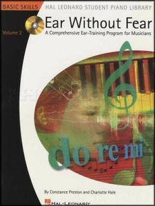 Ambitieux Atteintes De L'oreille Sans Crainte Volume 2 Ear Training Sheet Music Livre Avec Cd-afficher Le Titre D'origine
