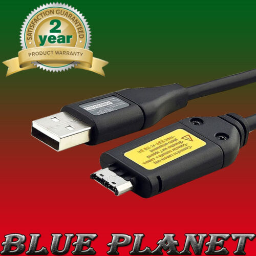 USB Cargador Cable De Datos Para Cámara Samsung ST50//TL210//NV30//NV33//M100
