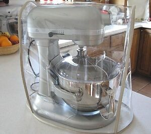 Almond Trim Clear Mixer Cover Fits Kitchenaid Bowl Lift
