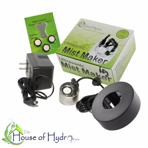 Mist Maker 1 Disc with Float and Spare Discs The House of Hydro