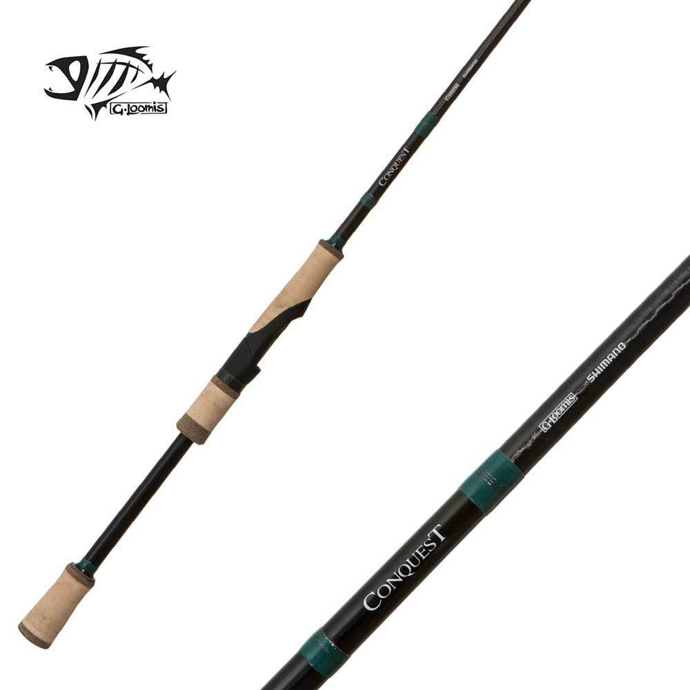 G Loomis Conquest Spin Jig Rod 782S SJR  6'6  Medium 1pc  everyday low prices
