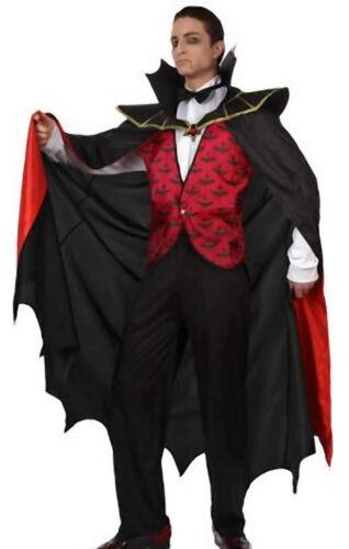 Graf Dracula Kostüm Gr.52//54 Vampir Kostüm Horror Faschingskostüm 4 Teile XL