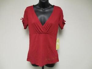 Nuevo-Arizona-Estado-Sol-Diablo-Mujer-S-Pequeno-Diseno-Imitacion-Envuelva-Camisa