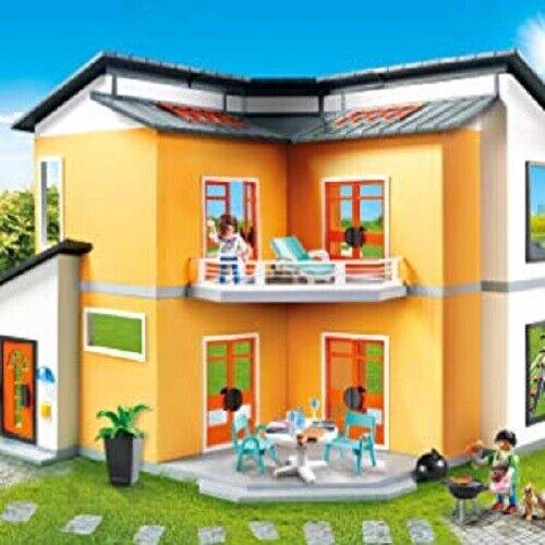 Playmobil Pièce Maison Moderne Enfants Jouet Noël Cuisine Chambre Salon  S.D.Bain