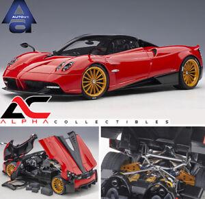 Preventa-Autoart-78287-1-18-Pagani-Huayra-Roadster-Rosso-Monza-Rojo-AUTOMOVILISMO