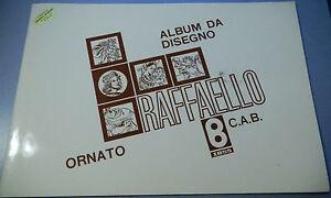 PRL-ALBUMS-DA-DISEGNO-ORNATO-10-FOGLI-PAGINE-24x34-cm-1980-C-A-B-BINDA-ITALY