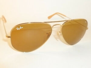 9d2611af797 New RAY BAN Aviator EVOLVE Sunglasses Gold Frame RB 3025 9064 4I ...