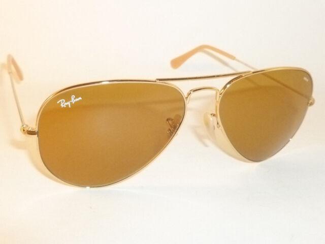 Ray-Ban Classic Aviator Evolve RB 3025 90644i Gold Sunglasses Brown  Photochromic 990f6cf0e