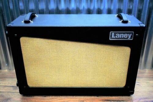 laney cub cab 2x12 open back guitar speaker cabinet black for sale online ebay. Black Bedroom Furniture Sets. Home Design Ideas