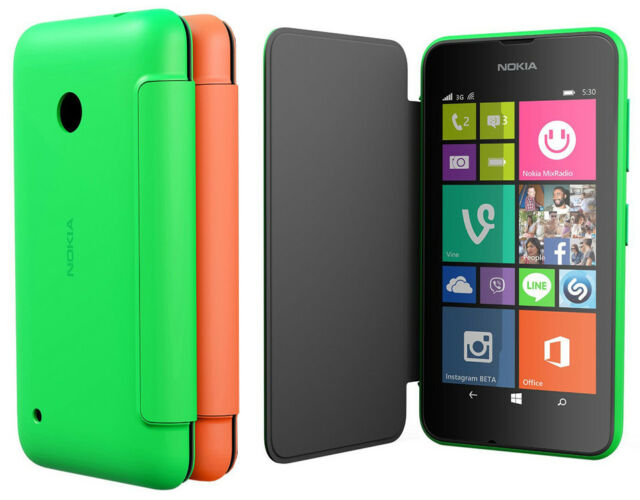 online store 0bf51 f8409 Smart Flip Cover CC-3087 for Nokia Lumia 530 Clip-On Hard Shell Folio Case
