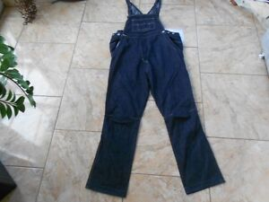 H3612-JESSICA-C-amp-A-Latzhose-Jeans-38-Dunkelblau-Gut