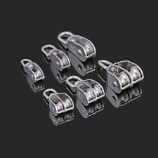 Swivel Pulley 304 Stainless Steel Singledouble Sheave Rope Hanging Lift Wheel