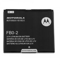 2 OEM Motorola Triumph Battery FB0-2 Black WX435 FB02 Li-ION 1380mAh fbo2