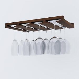 Incroyable Image Is Loading Wine Glass Rack Under Cabinet Stemware Holder Bar