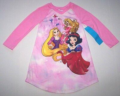 Nwt New Disney Princess Snow White Nightgown Pajamas Costume Dress Nice Girl