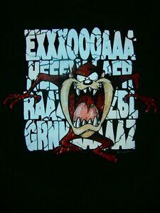 1997 ACME TASSIE DEVIL T-Shirt MENs L SUPREME 90s QUALITY AZ NU