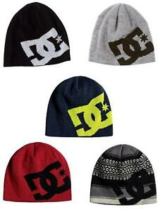 AVAILABLE IN 5 COLOURS DC SHOES BIG STAR BEANIE HAT