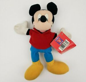 Mickey-Mouse-Beanbag-Plush-Mattel-Disney