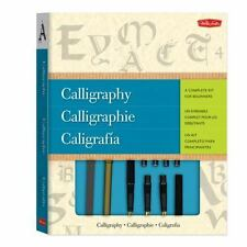 Calligraphy : A Complete Kit for Beginners by Eugene Metcalf, Walter Foster...