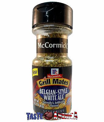 McCormick Grill Mates Belgian Style White Ale Seasoning 67g Jar BB 16/2/17