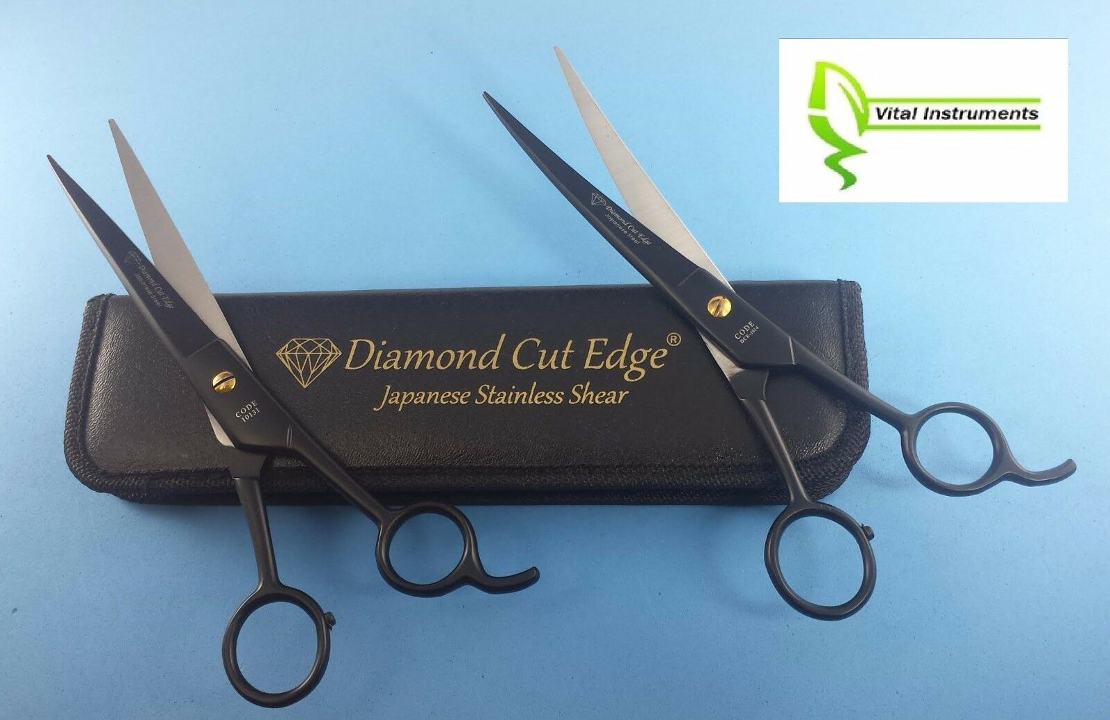Pet Dog Grooming Scissors Shears 8.5 8.5 8.5 Professional Japanese Stainless STR  CVD 1217b4