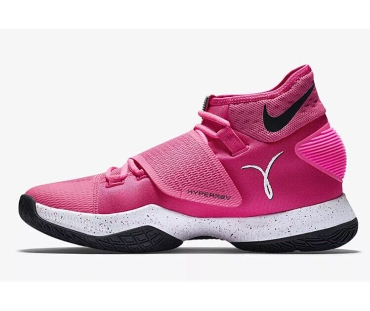 Brand discount Nike Zoom Hyperrev 2018 Pink Kay Yow Breast Cancer Awareness Basketball Shoe 16