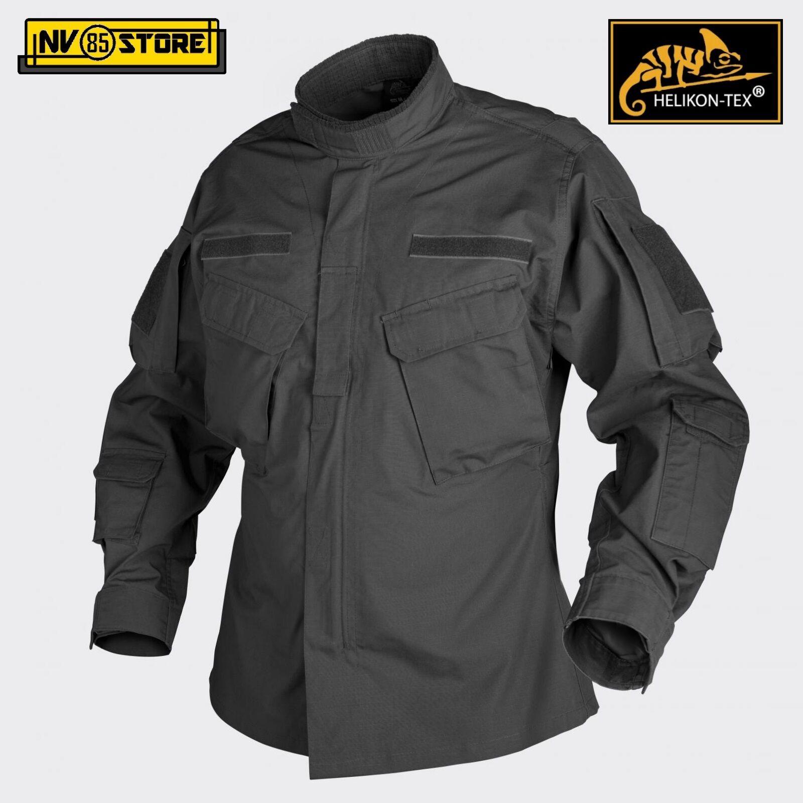 CPU Jacket HELIKON-TEX Tattica Giacca Tattica HELIKON-TEX Combat Shirt Softair Militare Outdoor BK c6b081