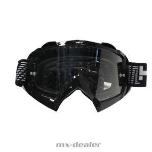 HP-7-hp7-MX-Occhiali-Nero-Motocross-Enduro-Downhill-MTB-BMX-Goggle-Crossbrille