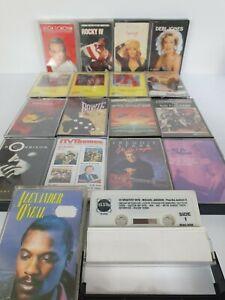 Vintage-Retro-80-039-s-Music-Cassettes-Tapes-Bundle-x-18-Donovan-Minogue-Fame-Pop