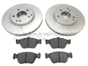 Mercedes SLK 230K Komp R170 96-04 Front Brake Disc+Pads