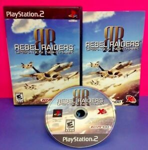 Rebel-Raiders-Op-Nighthawk-PS2-Playstation-2-COMPLETE-Game-1-Owner-Mint-Disc